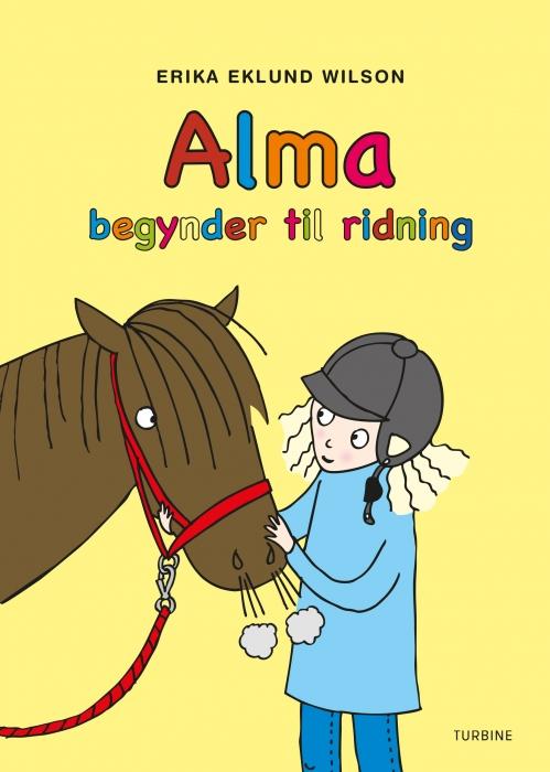 Alma begynder til ridning (Bog)