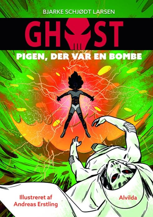 GHOST 3: Pigen, der var en bombe (Bog)