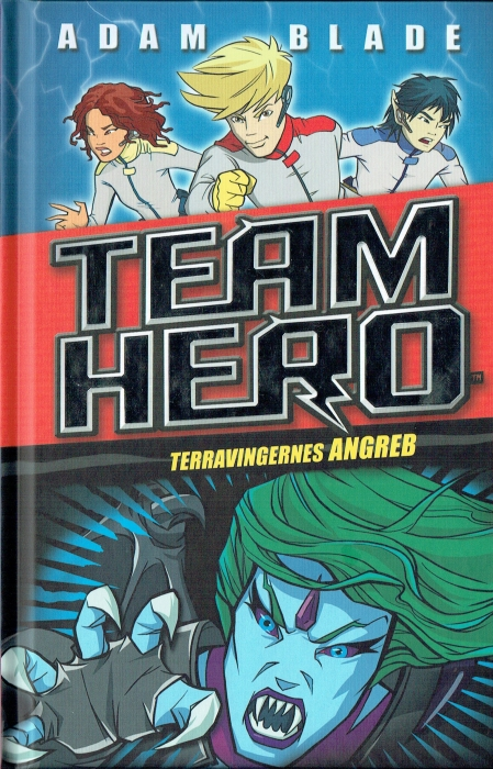 Image of Team Hero (2) Terravingernes angreb (Bog)