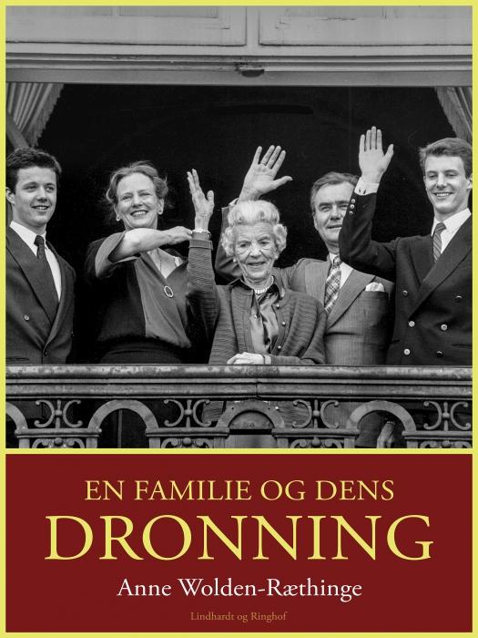 Image of En familie og dens dronning (Lydbog)