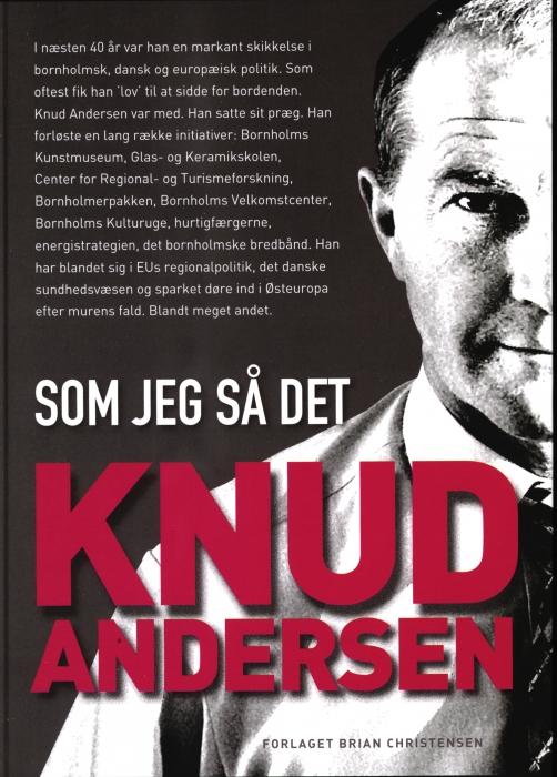Knud Andersen - som jeg så det (Bog)