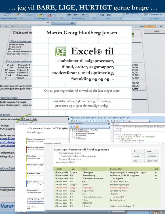 Excel til skabeloner ... (E-bog)