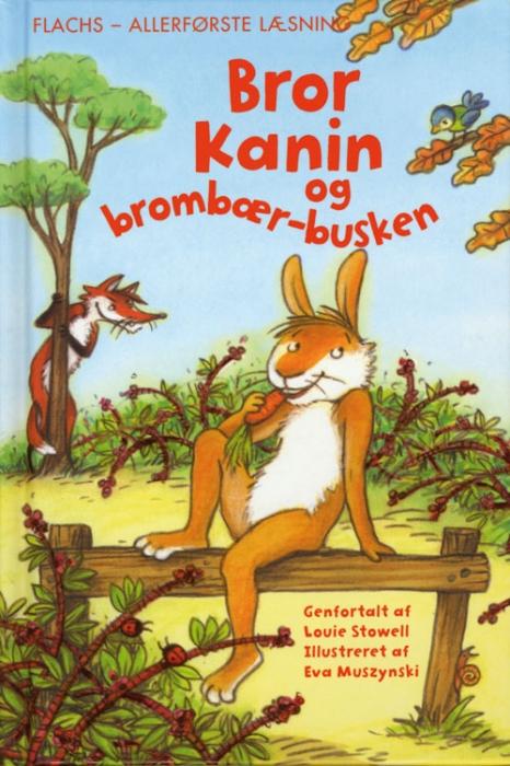 Bror kanin i brombærbusken (E-bog)