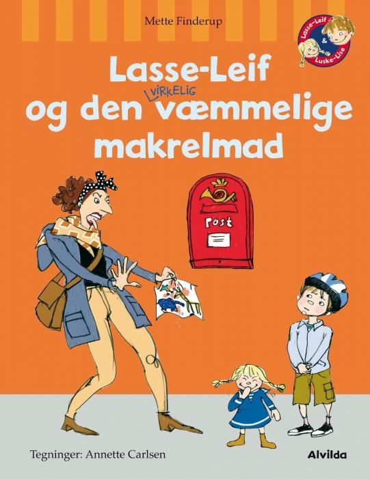 Lasse-Leif og den virkelig væmmelige makrelmad (E-bog)