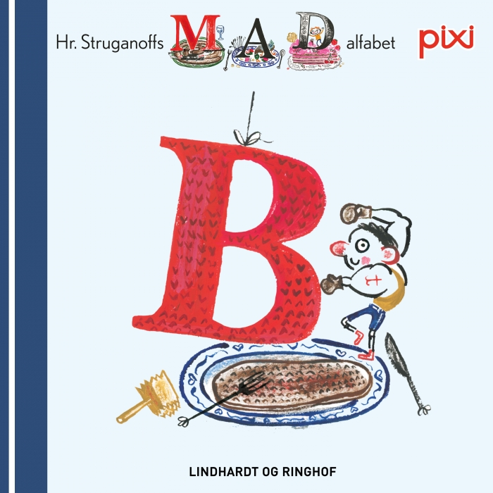 Pixi- Hr. Struganoff madalfabet B (Lydbog)