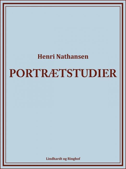Portrætstudier (Bog)