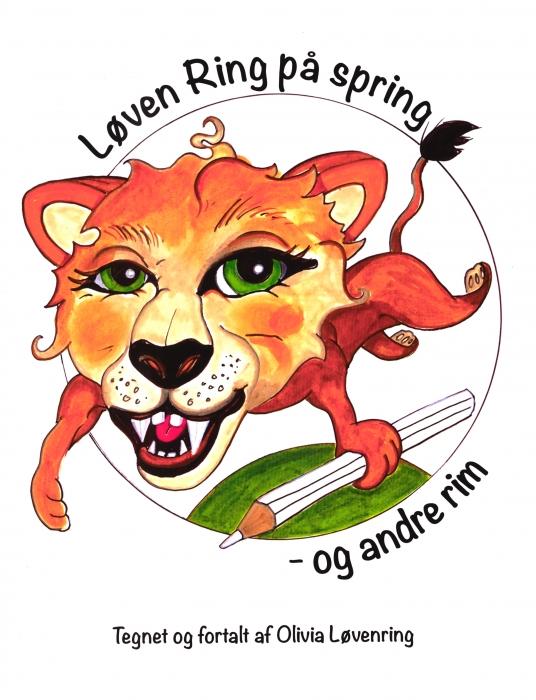 Løven Ring på spring - og andre rim (Bog)
