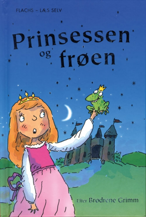 Prinsessen og frøen (E-bog)