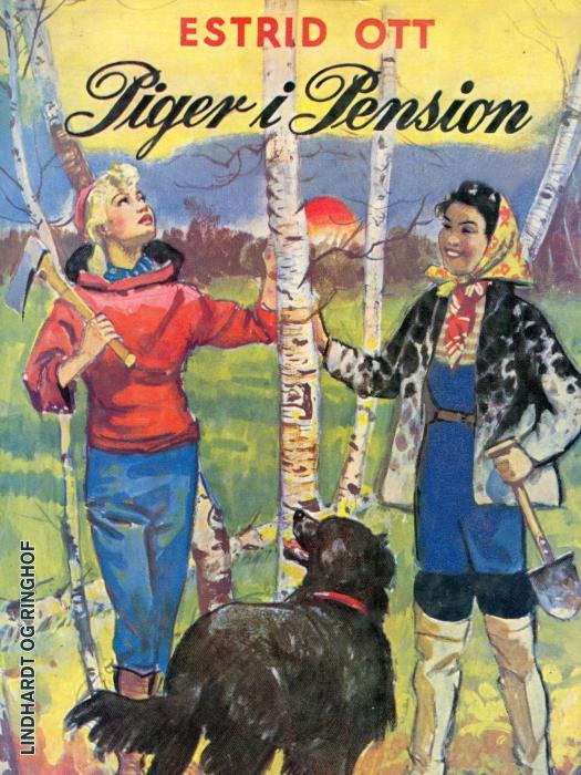 Image of   Piger i Pension (Bog)