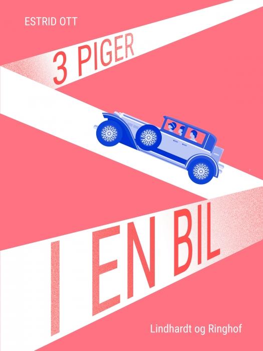 Image of   Tre piger i en bil (Bog)