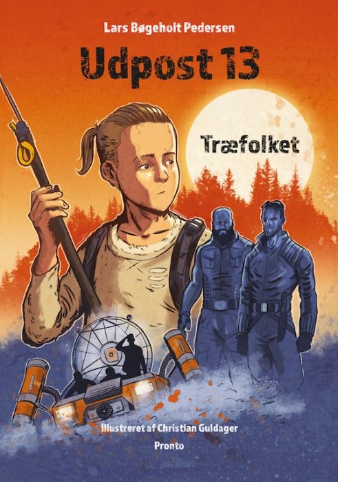 Udpost 13  -  Træfolket (Bog)