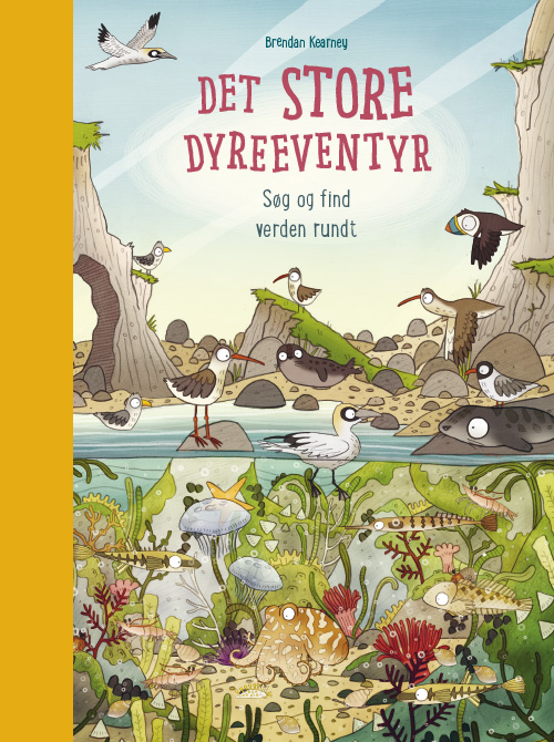 Image of Det store dyreeventyr - Søg og find verden rundt (Bog)