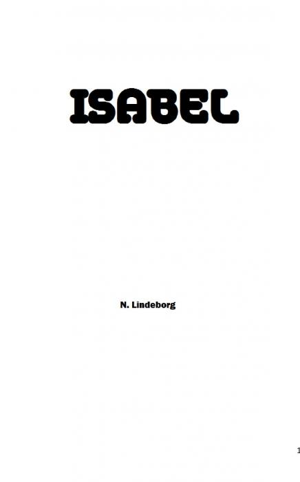 Isabel (Bog)