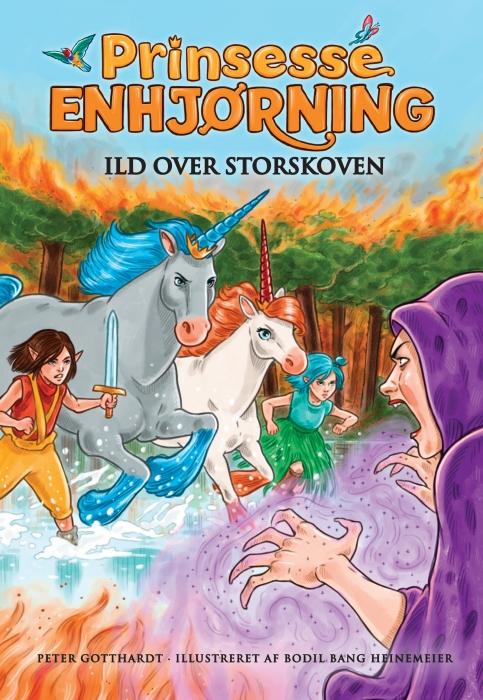 Image of   Prinsesse Enhjørning - Ild over Storskoven (8) (E-bog)