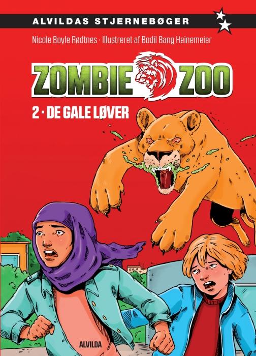 Zombie zoo 2: De gale løver (E-bog)