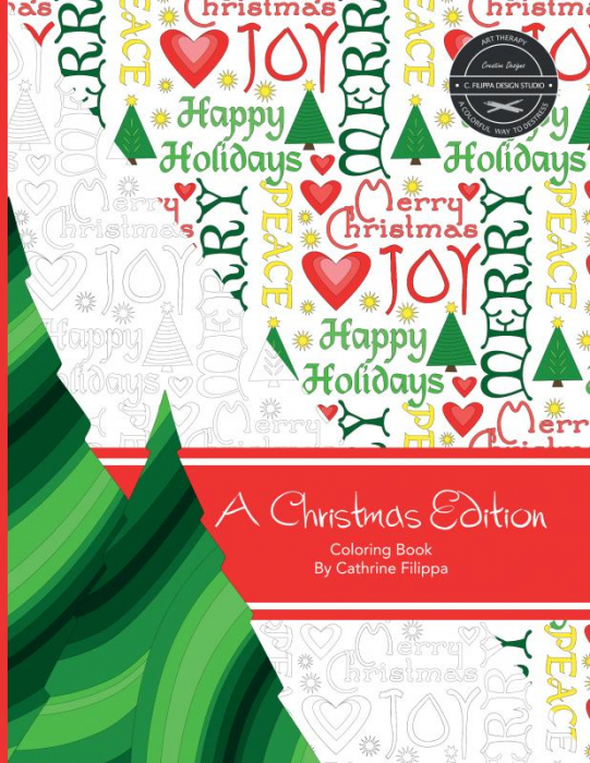 Image of   A Christmas Edition - Coloring Book (Bog)