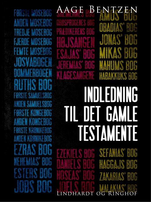 Image of Indledning til Det gamle Testamente (E-bog)