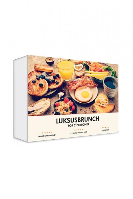 beb769e00 Luksusbrunch for 2 - Køb billigt hos Bogreolen.dk