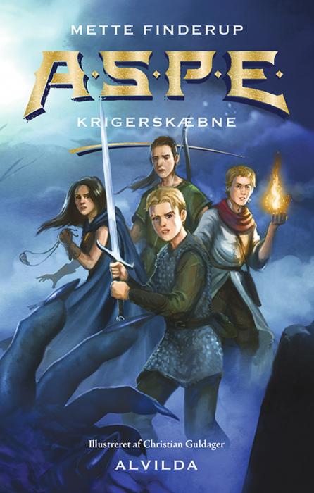 Image of   A.S.P.E. 2: Krigerskæbne (Bog)