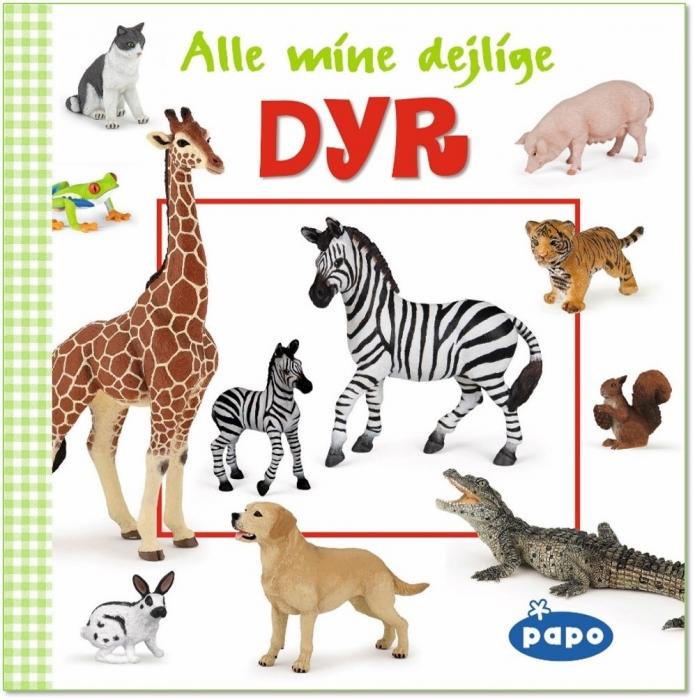 Image of   Alle mine dejlige dyr (Papo) (Bog)