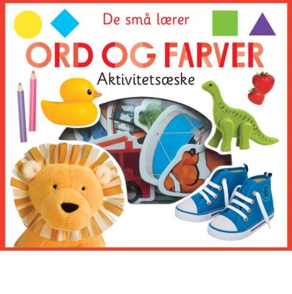 De små lærer - Ord og farver - aktivitetsæske (Bog)