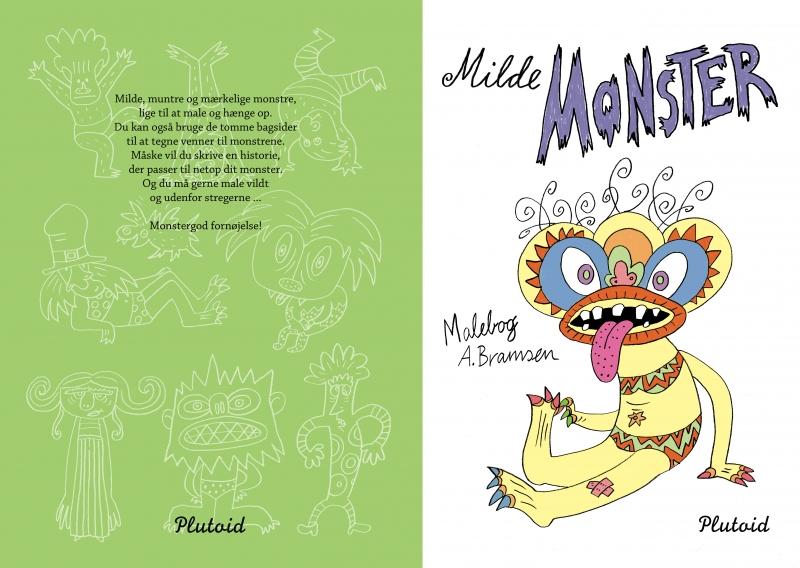 Image of Milde Monster malebog (Bog)