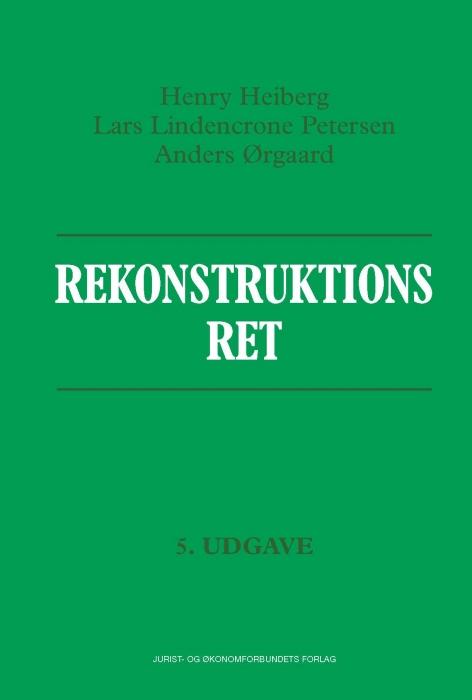 Image of   Rekonstruktionsret (E-bog)