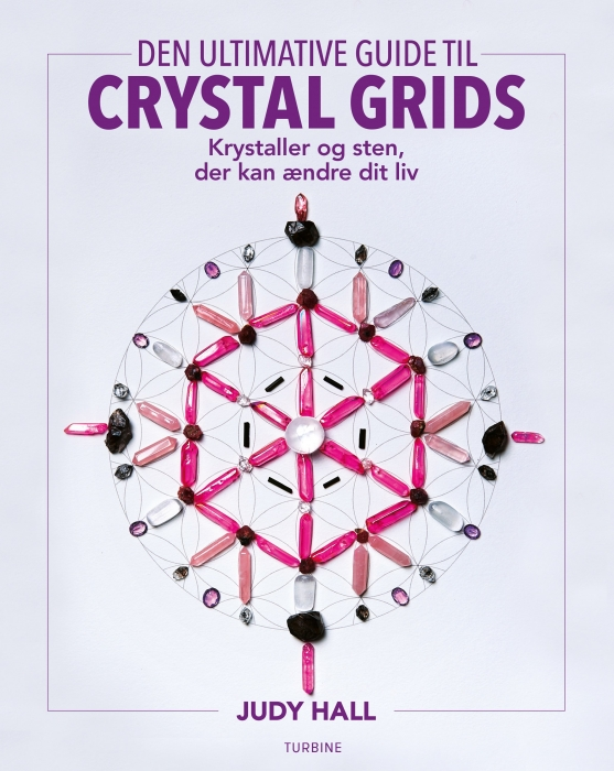 Den ultimative guide til crystal grids (Bog)