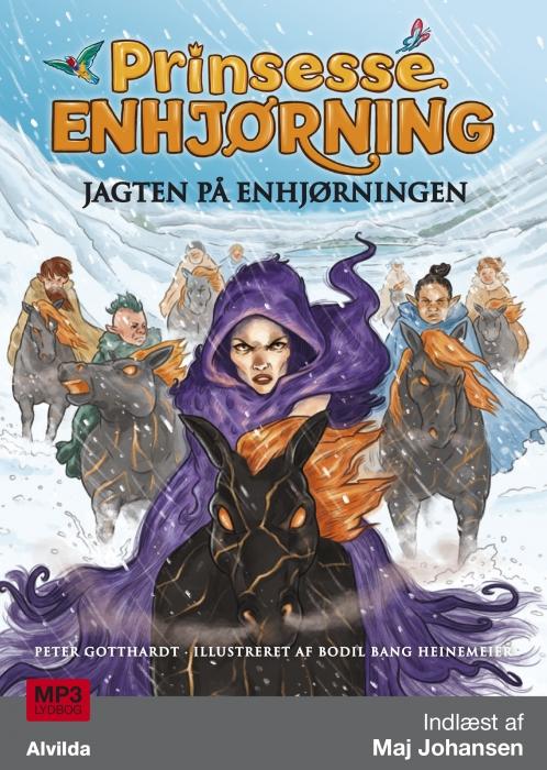 Image of   Prinsesse Enhjørning - Jagten på enhjørningen (6) (Lydbog)