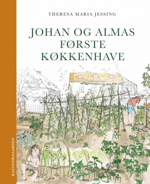 Image of   Johan og Almas første køkkenhave (Bog)