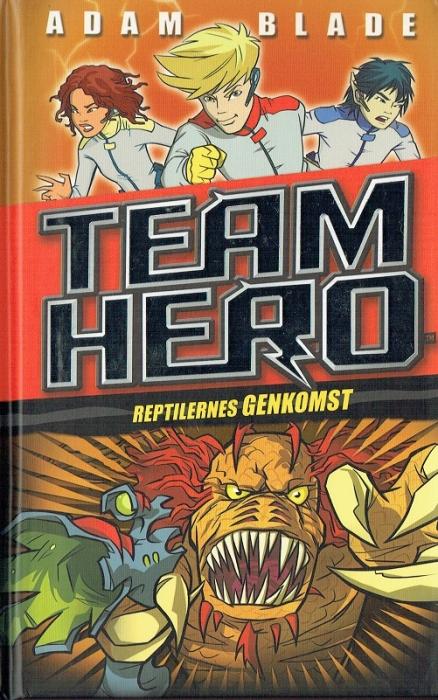 Image of Team Hero (3) Reptilernes genkomst (Bog)