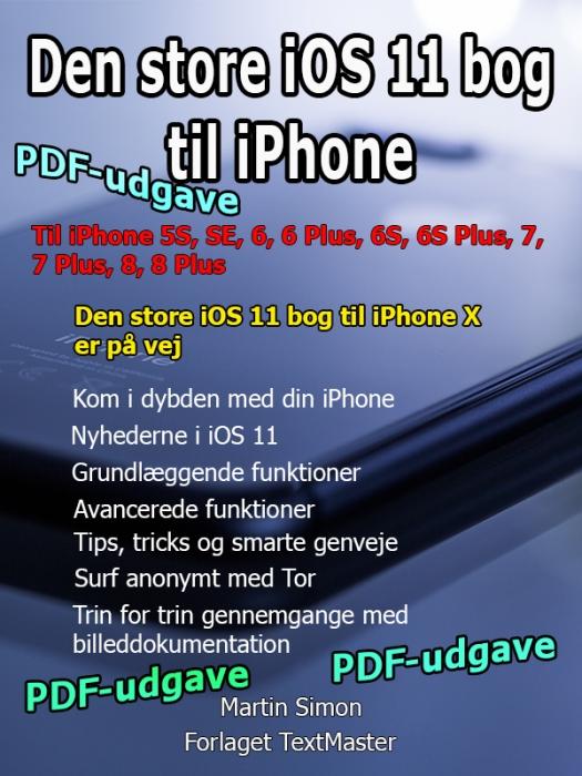 Image of   Den store iOS 11 bog til iPhone (E-bog)