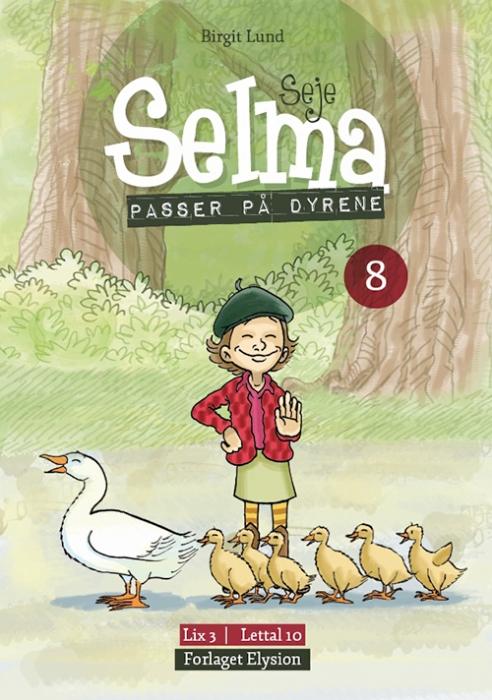 Image of   Seje Selma passer på dyrene (Bog)