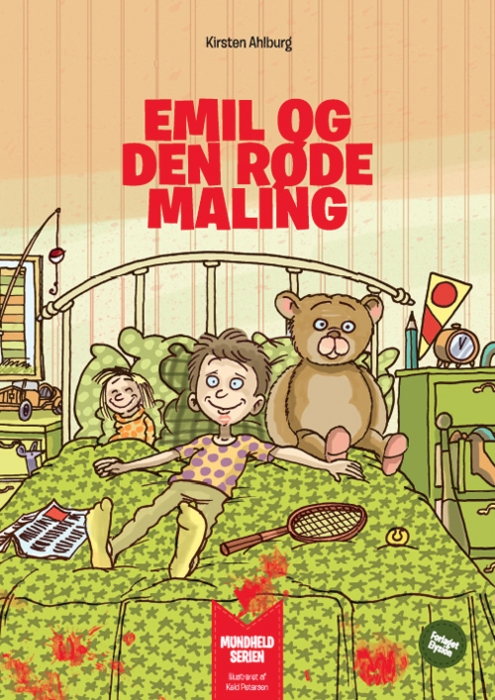 Image of   Emil og den røde maling (Bog)