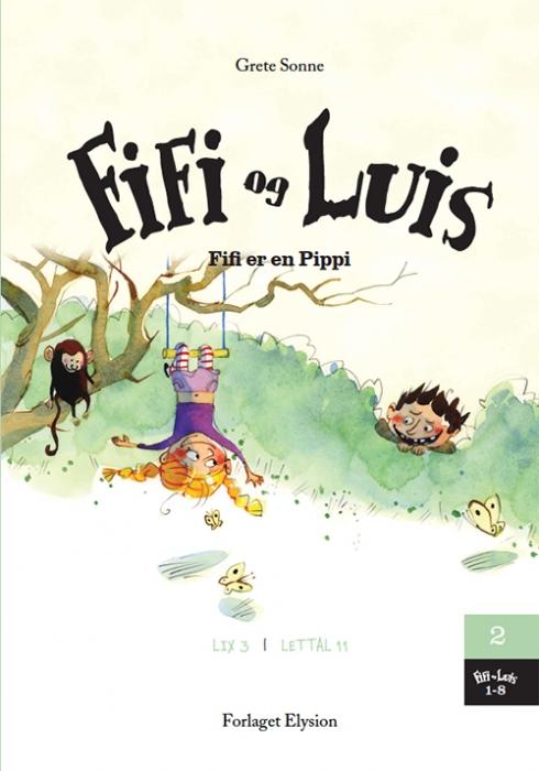 Image of   Fifi er en Pippi (Bog)
