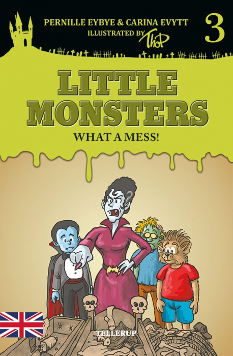 Little Monsters #3: What a Mess! (Bog)