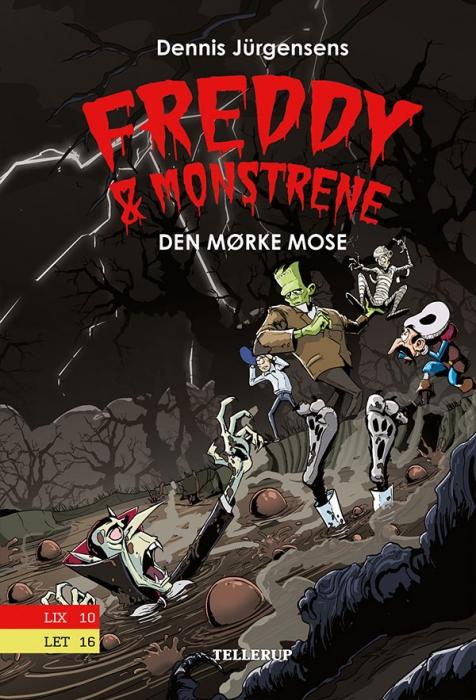 Freddy & monstrene #4: Den mørke mose (Lydbog)