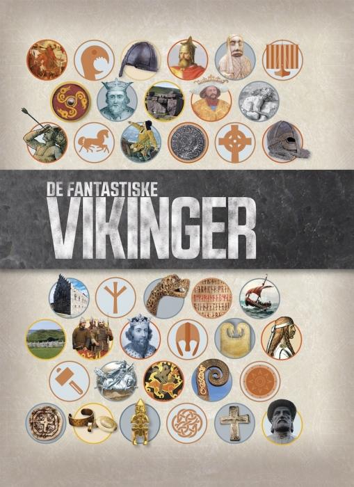 Image of   De fantastiske vikinger (Bog)