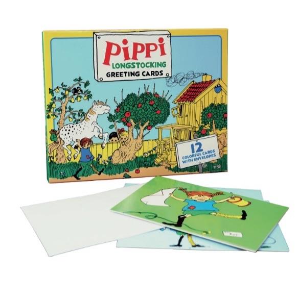 Pippi Kunstkort (Bog)
