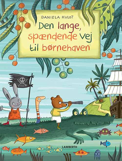 Image of   Den lange spændende vej til børnehave (Bog)