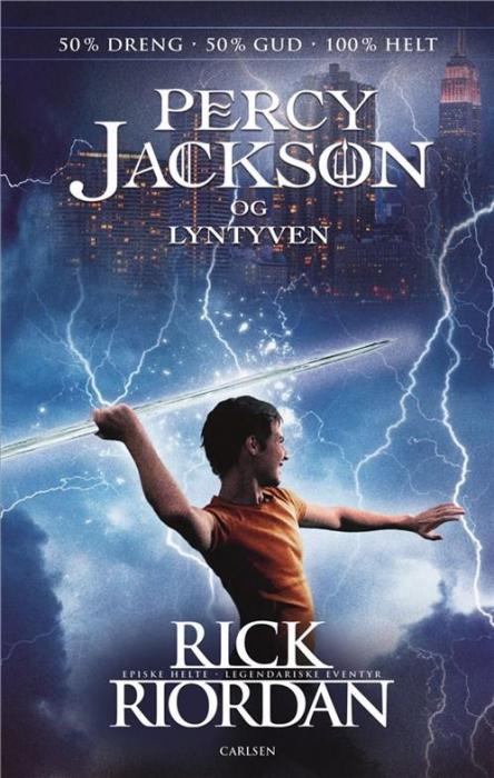 Percy Jackson (1) - Percy Jackson og lyntyven (Bog)