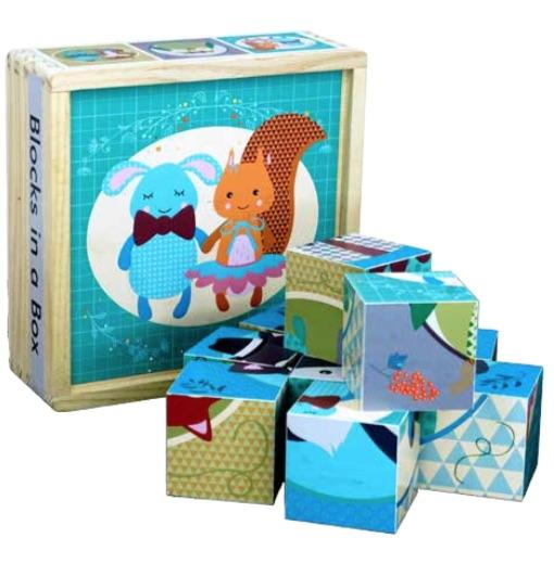 Blocks in a box (Bog)