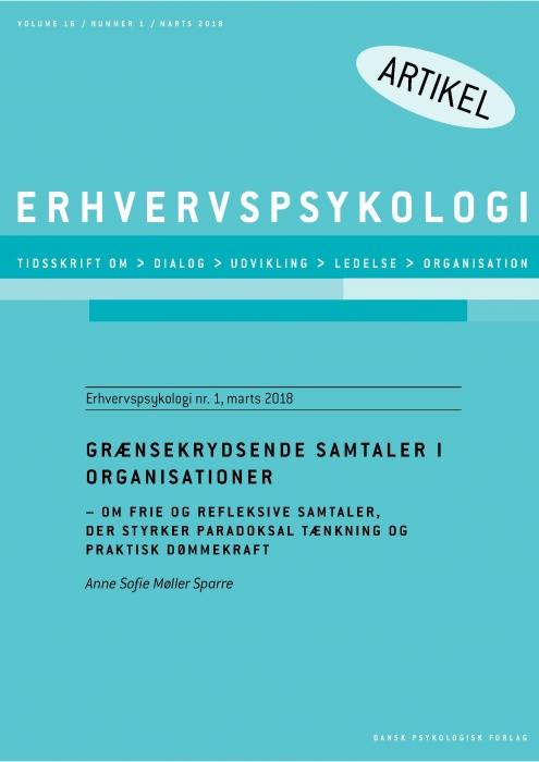 Image of Grænsekrydsende samtaler i organisationer (E-bog)