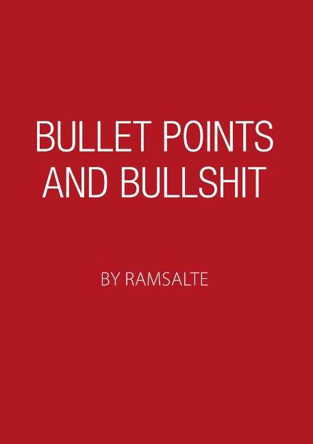 Bullet points and bullshit (Bog)