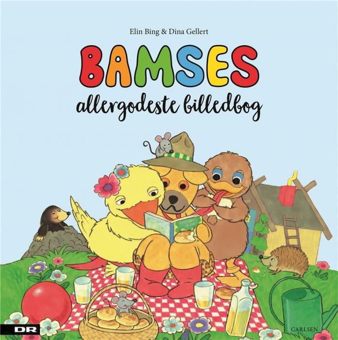 Image of   Bamses allergodeste billedbog (Bog)