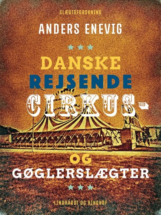 Billede af Danske rejsende cirkus- og gøglerslægter (E-bog)