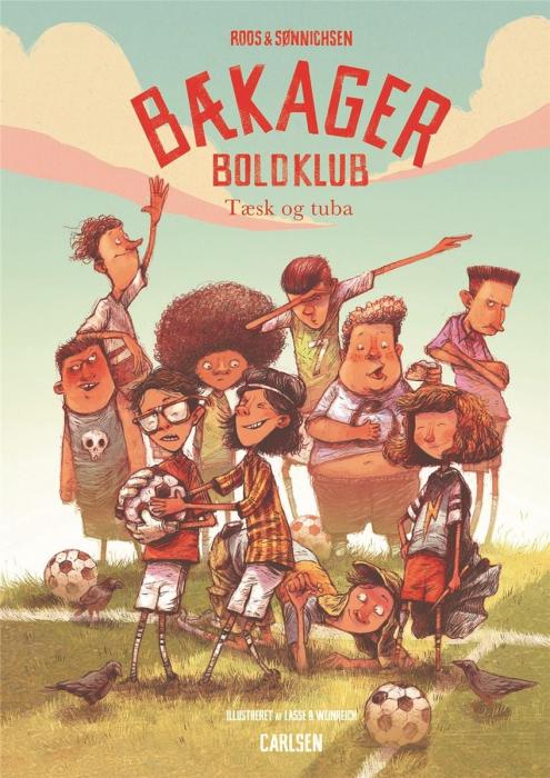 Image of   Bækager Boldklub (1) - Tæsk og tuba (Bog)