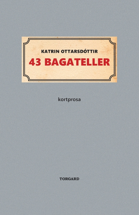 Image of   43 bagateller (Bog)