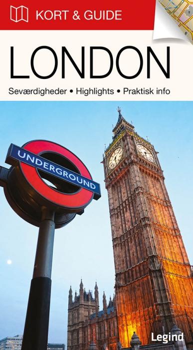 Kort & Guide  -  London (Bog)