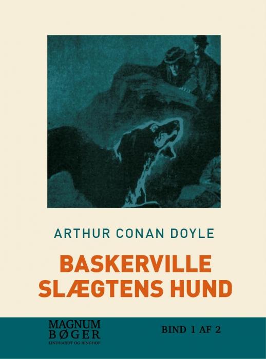 Billede af Baskerville-slægtens Hund, bd 5 (storskrift) (Bog)